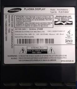Sensor + Botão Joystick Tv Samsung Pl51f4500ag - Usada