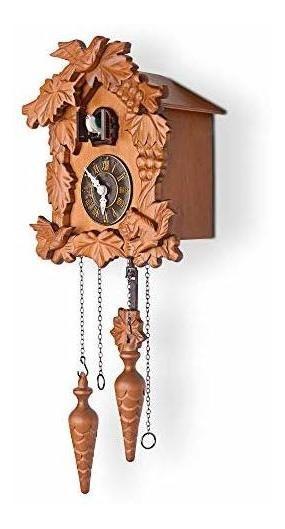 Kendal Reloj Cucú De Madera Hecho A Mano.