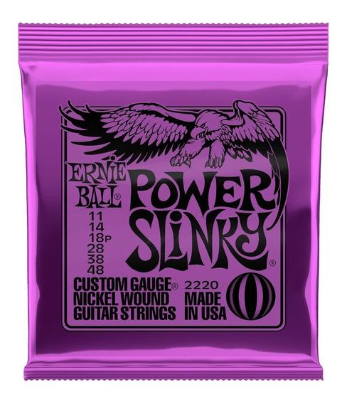 Encordoamento Ernie Ball Power Slinky 011.048 Promoção!