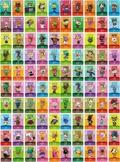 Amiibo Animal Crossing New Horizons Kit C/ 3 Cards À Escolha