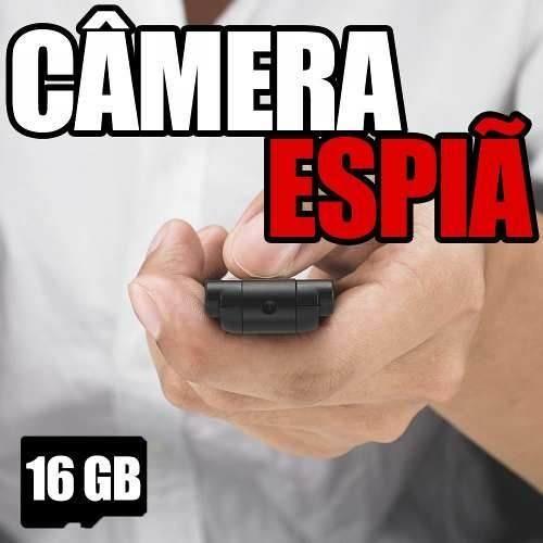 Mini Micro Camera Dv Fimadora Hd 720p Acessorios Espionagem