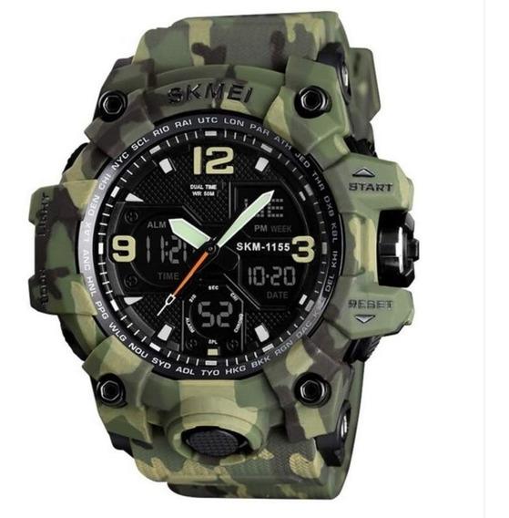 Relógio Esportivo Masculino Skmei 1155 Prova D