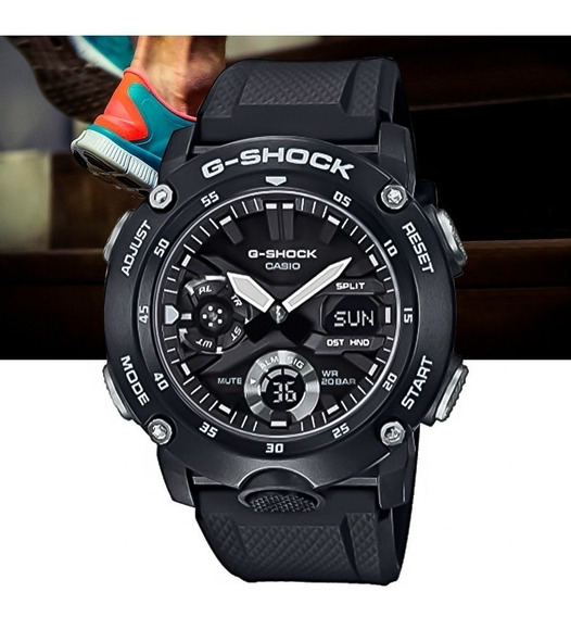 Relógio Casio G-shock Masculino Ga-2000s-1adr Preto