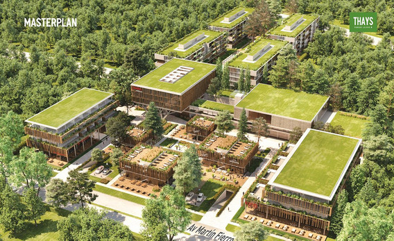 Venta De Oficina En Thays Parque Leloir - Edificio Cipres