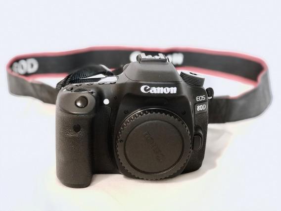 80d Camera Canon Em Ótimo Estado!