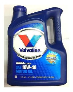 Aceite Valvoline Durablend 10w40 4l - Semisintetico