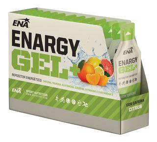 Enargy Gel + Cafeina Ena Caja X 12 Un. Repositor Energetico