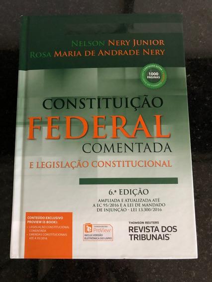 Constituição Federal Comentada 6° Edição