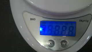 Peso Electrónico De Cocina Balanza Digital Luz Led 5kg