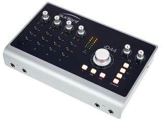 Placa De Audio Usb Audient Id44 Interfaz De Sonido