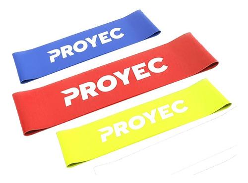 Bandas Elastica Circular Normal Pack X3 Tiraband Proyec