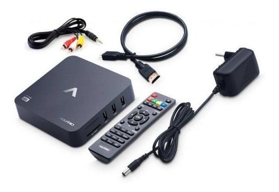 Tv Box Smart Aquário Stv2000 4k Android Lançamento