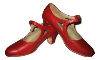 Talles Sueltos Zapatos Estudio Danza Español Flamenco Folklore Dabke Árabe 100% Cuero Vacuno Hebilla