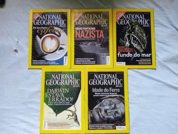 Revista National Geographic. 5 Ed Anos 04, 05, 07.