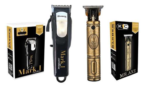 Combo Maquina Para Corte De Cabello Buy Barber Mark1/mr Axe