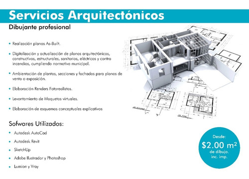 Planos Y Levantamiento Arquitectónicos, Asesoría Gratuita.