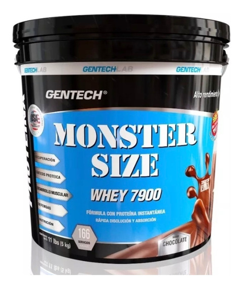 Gentech Whey Protein Monster Size 5000grs