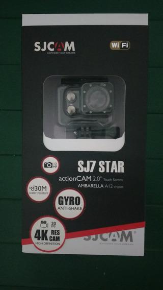 Sj7 Star Actioncam 4k Com Acessórios