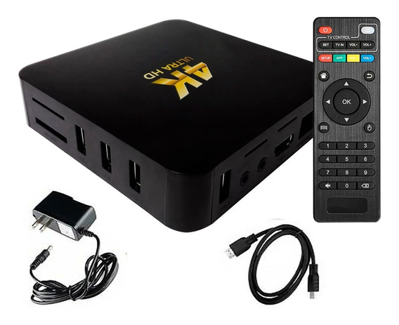 Conversor Smart Tv Android Tv Box Quad Core 4k Modelo 18