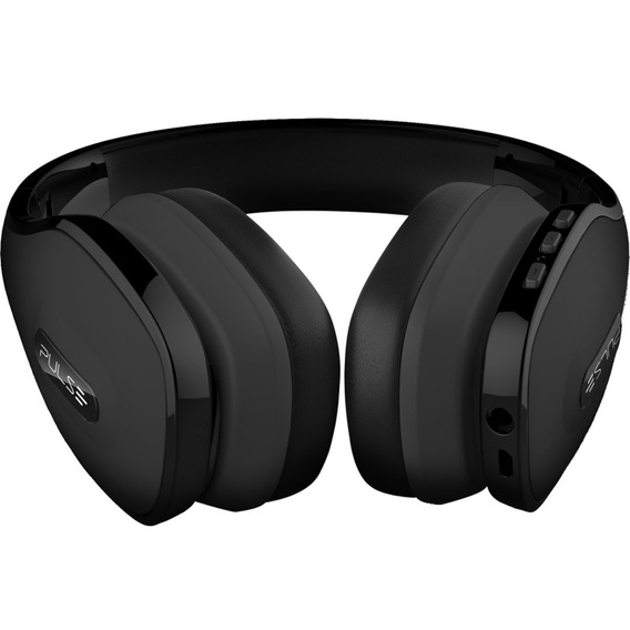 Fone Headphone Pulse Overear Stereo Bluetooth Preto Ph150 Nf