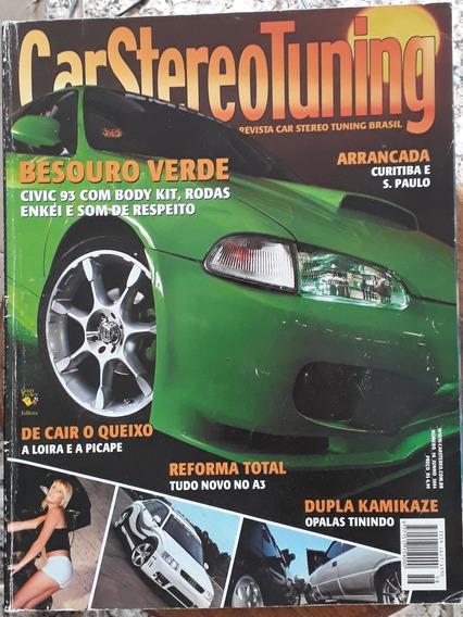 Revista Car Stereo Tuning - Junho 2004 - N°58