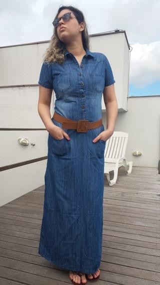 Roupas Femininas Vestido Longo Moda Evangélica Promoção Top
