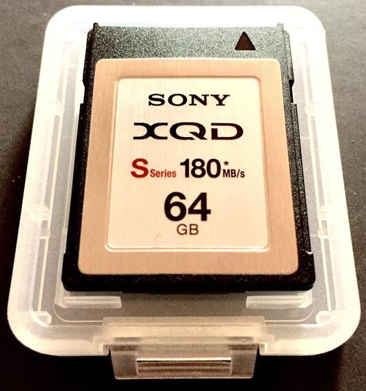 Cartão De Memória Sony Xqd 64gb 180mbs Série S
