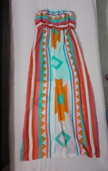 Maxi Vestido Ruby Box Talla S