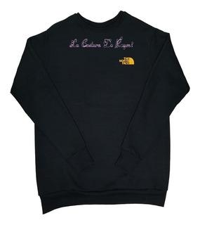 Sweater Sueter Con Diseño The North Face La Costura De Raymi