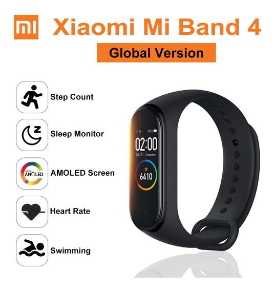 Versão Global Original Xiaomi Mi Banda 4 Relógio Inteligente