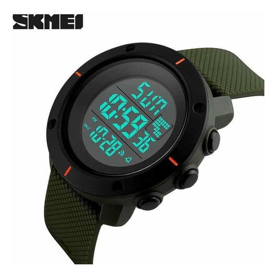 Relógio Skmei 1213 Esportivo Digital Original Verde Promoção