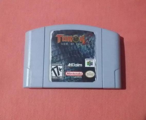 Turok 2 Nintendo 64 Original Americano Funcionando 100%