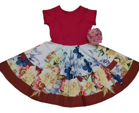 Vestido Mídi Godê Rodado Plus Size Moda Evangélica Promoção