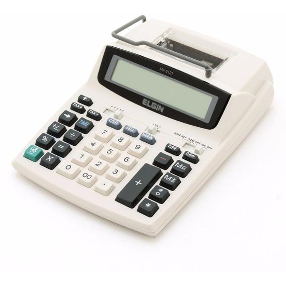 Calculadora Eletrônica E Impressora 12 Digitos Ma5121
