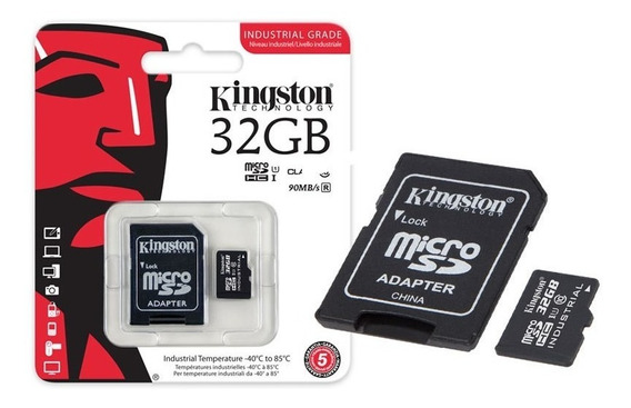 Cartao De Memoria Classe 10 Kingston Sdcit/32gb Micro Sdhc