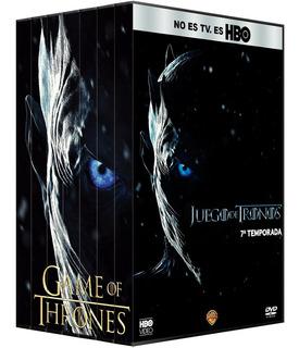 Game Of Thrones Juego De Tronos Serie Temporadas 1 - 8 Dvd
