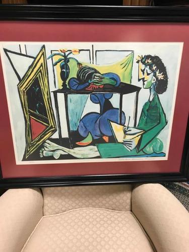Litografía Original De Pablo Picasso Colección Domaine50/500