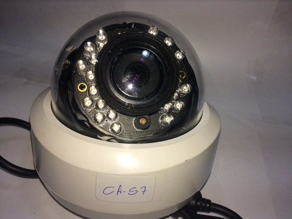 Câmera De Segurança Dome Plástico, Lente 2.8~8mm (ca 57)