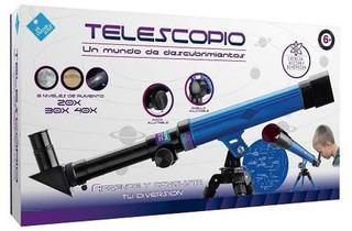 El Duende Azul Telescopio 20x 30x 40x Nuevo 6256 Bigshop