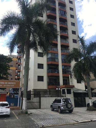 Apartamento Com 2 Dormitórios À Venda, 71 M² Por R$ 275.000,00 - Vila Guilhermina - Praia Grande/sp - Ap7155