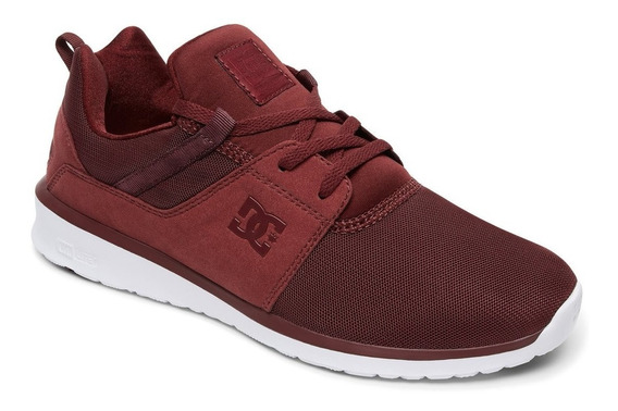 Zapatillas Dc Shoes Mod Heathrow Bordo!!! Coleccion 2019!!