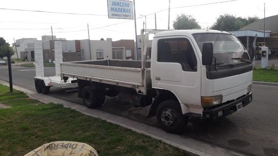 Vendo Enganchado Camion Y Trailer P/autoelevador