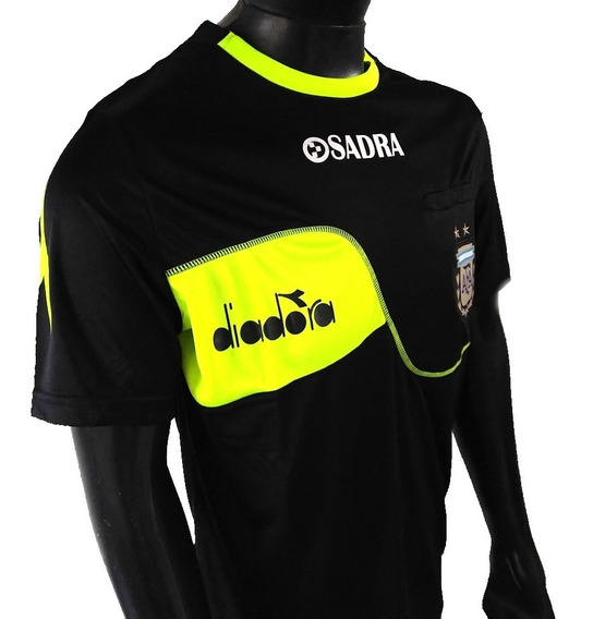 Camiseta Arbitro Diadora Oficial Afa - Casaca Referee Afa