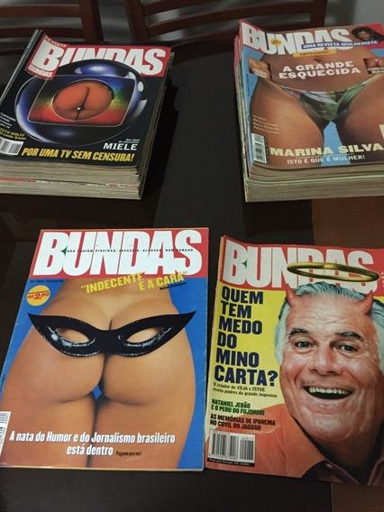 Coleção Revista Bundas (1999/2000)