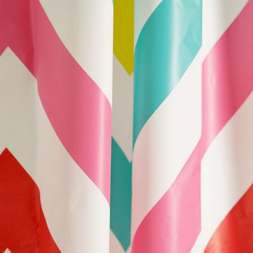 Imagen 1 de 3 de Cortina Para Baño 180x180 Cm Peva Blanca