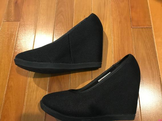 Zapatos Negros De Taco Chino Marca Puma