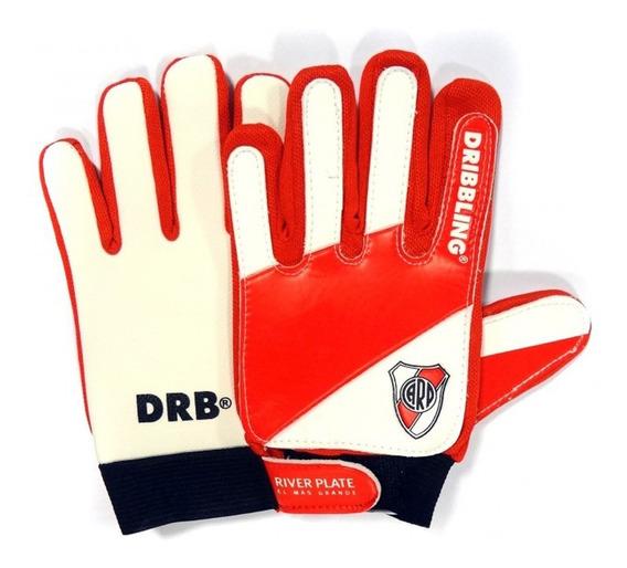 Guantes De Arquero River Plate ® Niño Junior Talle 4 Al 7.