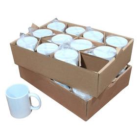 Caixa De Caneca Para Sublimação Cerâmica Classe A 325ml 24un