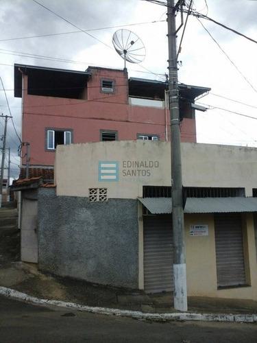 Imagem 1 de 8 de Edinaldo Santos Imóveis - Ótima Casa Em Nova Era Com 3/4 - 6391