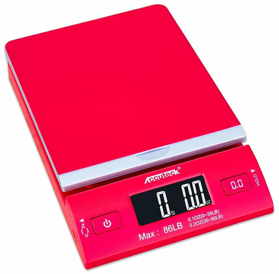 Accuteck Dreamred 86 Lbs Digital Postal Scale Shipping Scale